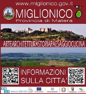La  MIGLIONICORRIDA Vi presenta MIGLIONICO  con Info e Mappa scaricabile su MIGLIONICO (MATERA)